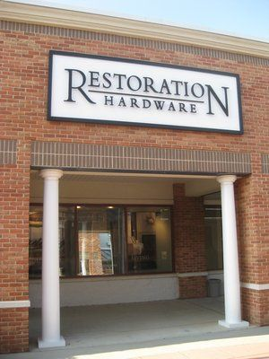 Restoration Hardware Furniture Outlet In Leesburg, VA