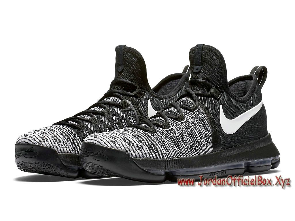 promo code 3a4cb 55783 ... best price nike kd 9 oreo 843392010 chaussures officiel nike kd pour  homme noires gris 280bb ...
