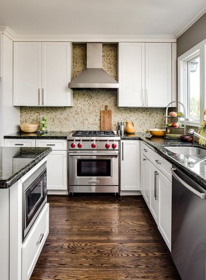 9 Places to Put the Microwave in Your Kitchen | Kitchen remodel ...