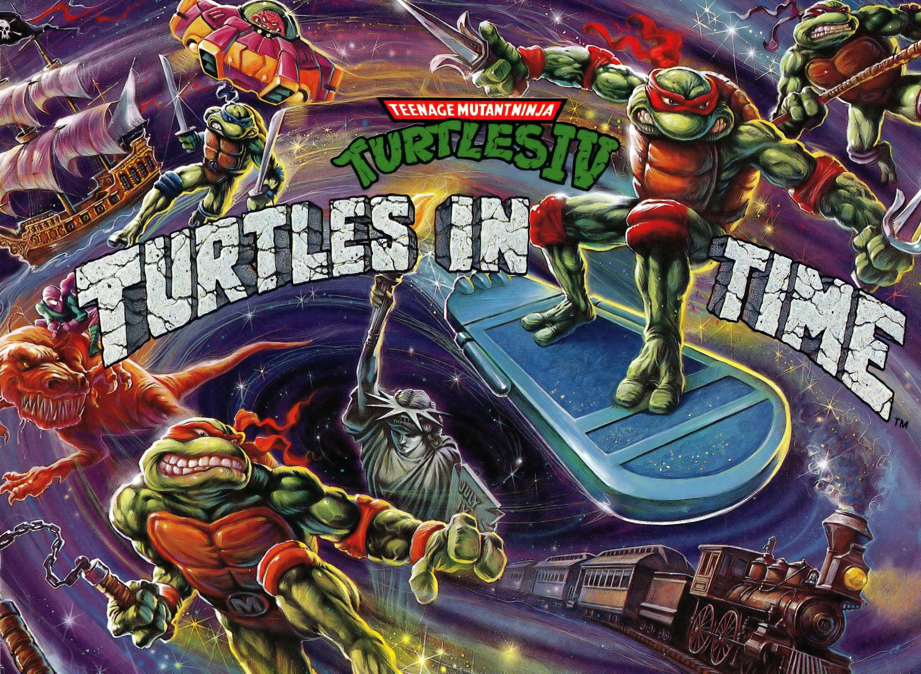 Video Game Teenage Mutant Ninja Turtles Iv In Time Wallpaper 247293