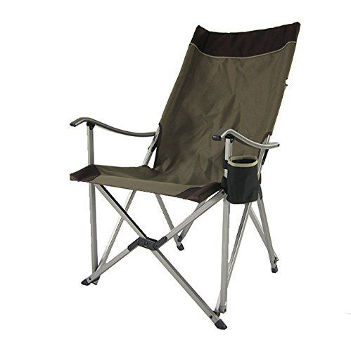onway aluminum portable folding premium sling relax chair brown rh pinterest com