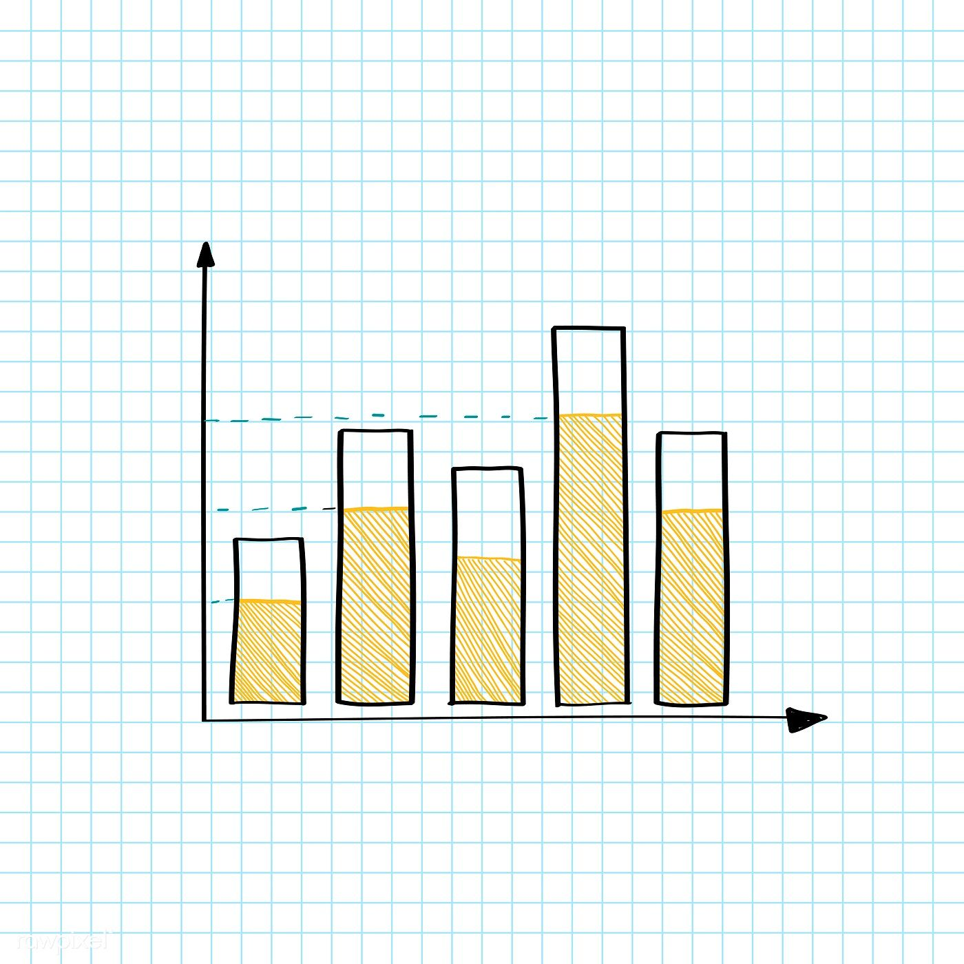 Stock Market Bar Graph Vector Free Image By Rawpixel Com Filmful Bar Graph Design Graph Design Graphing
