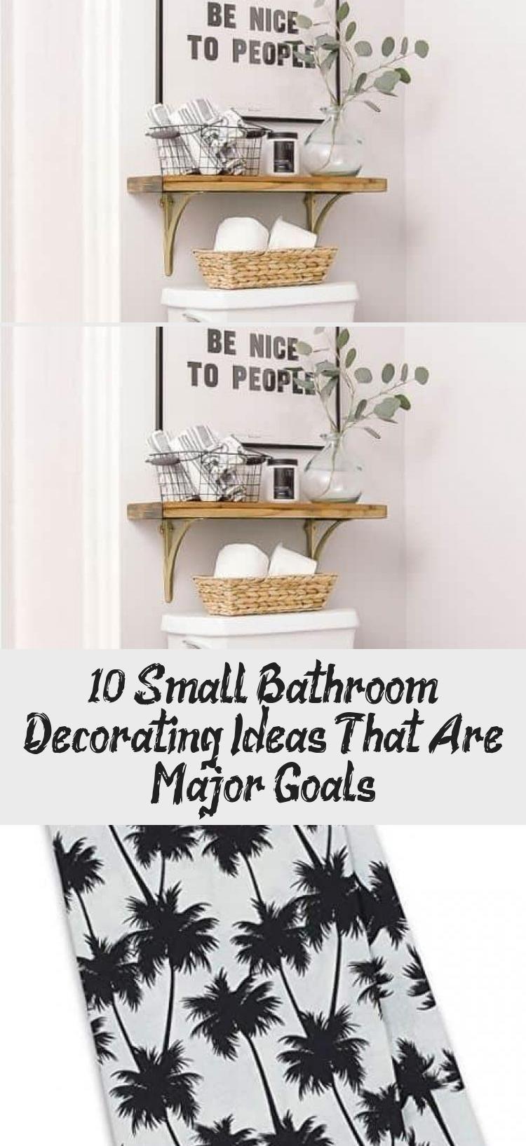 10 Small Bathroom Decorating Ideas That Are Major Goals  İdeasbathroom
