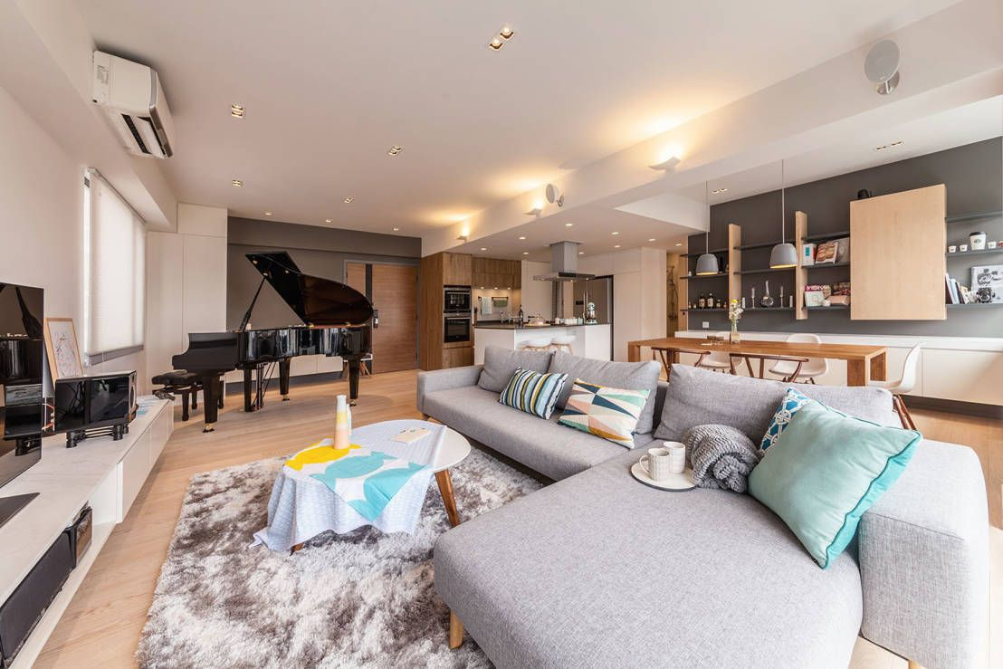 . A modern apartment with all refinements   Living Rooms  lounges