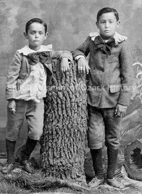 Little Lord Fauntleroy Suits A Popular Outfit For Small Boys During The Bustle Period The Little Lord Fauntler Boy Outfits Victorian Clothing Photo Memories