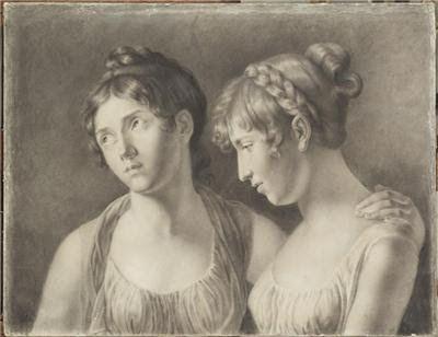 Adèle Auguié (1788-1813), Her sisters Aglaé and Hortense de Beauharnais