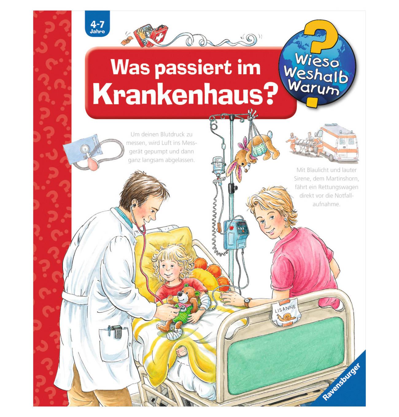 Ravensburger Bucher Was Passiert Im Krankenhaus Products In 2019 Bucher Sachbucher Und Deutsche Bucher