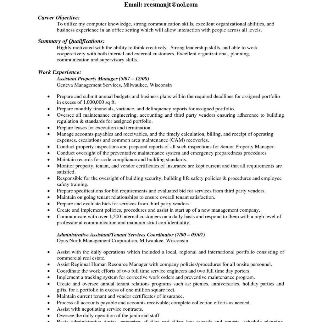 Physician Office Nurse Cover Letter Property Management ...