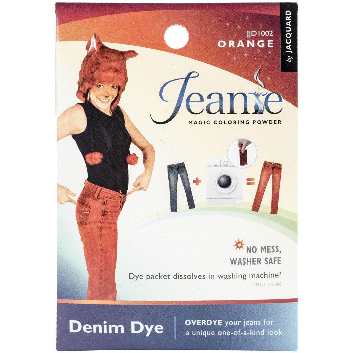 Jacquard Jeanie Denim Dyes .49oz-Orange