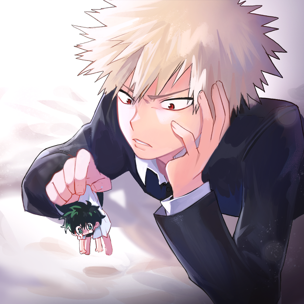 My boy, Bakugou, DON'T act like you hate him because we all know how you really feel