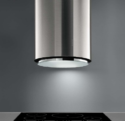 "Modern Kitchen Hoods cooktop hoods for islands | island range hood 28"" ellipso 