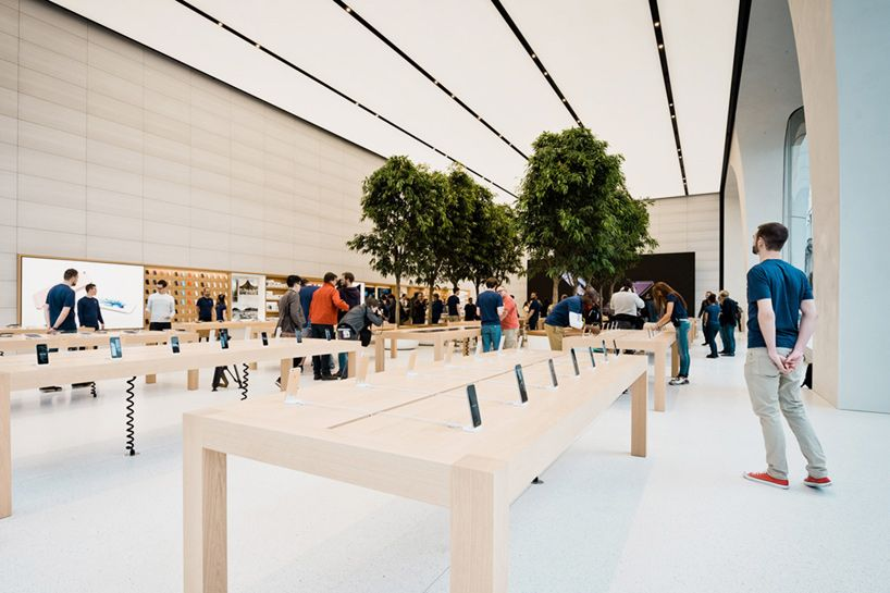 Jony Ive Unveils His First Apple Store Interiors In Brussels With