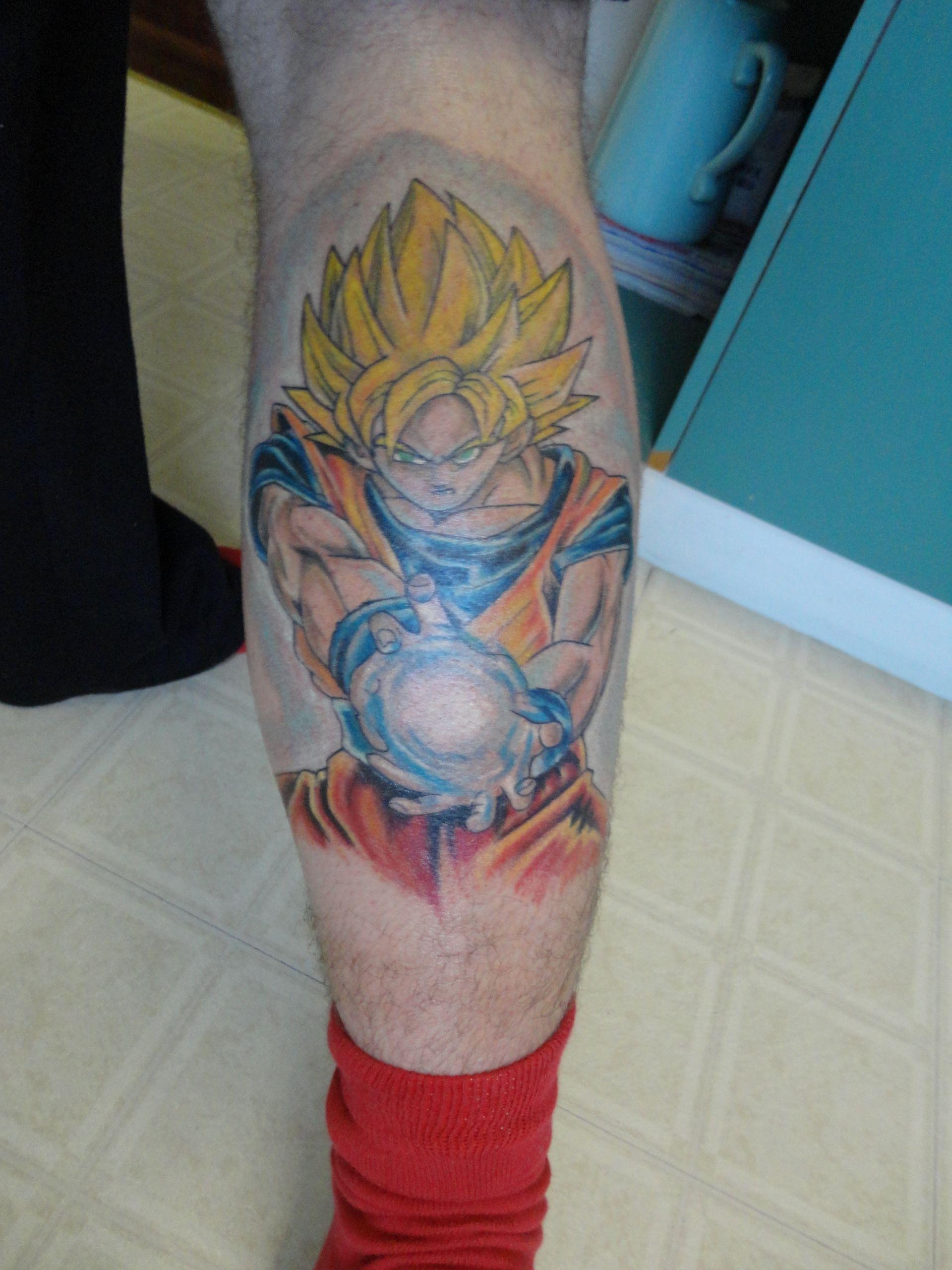 Dragon Ball Z Photo My Leg Tattoo Z Tattoo Dragon Ball Tattoo Dragon Ball Image
