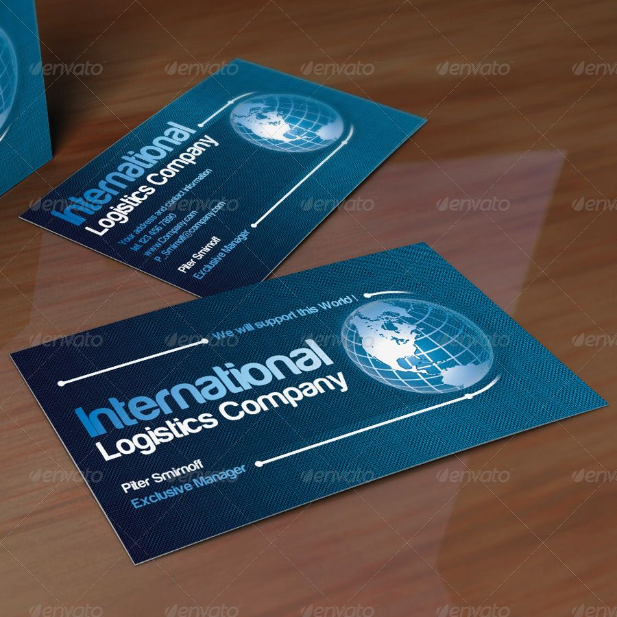 Global Business Card | Business cards, Creative design and Business