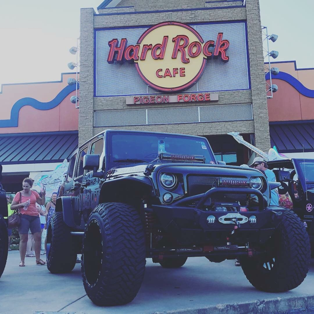 Pigeon Forge Tennessee Hard Rock Cafe Kickoff Party For The