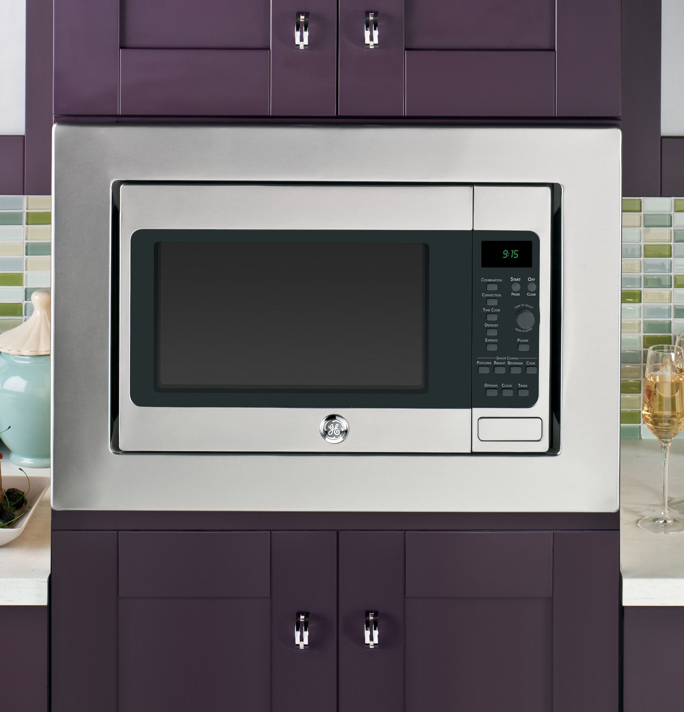 Peb9159sfss Ge Profile Series 1 5 Cu Ft Countertop Convection Microwave Oven