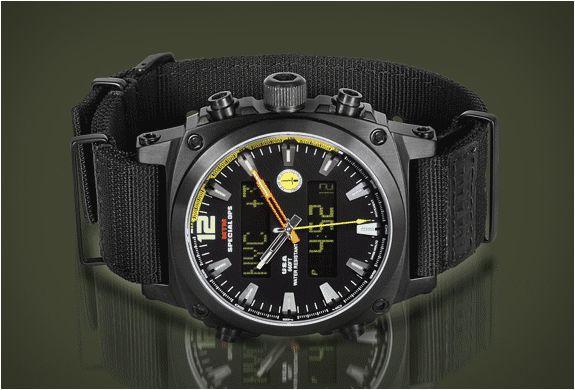 6495055c92e Um relógio militar pra civil nenhum botar defeito