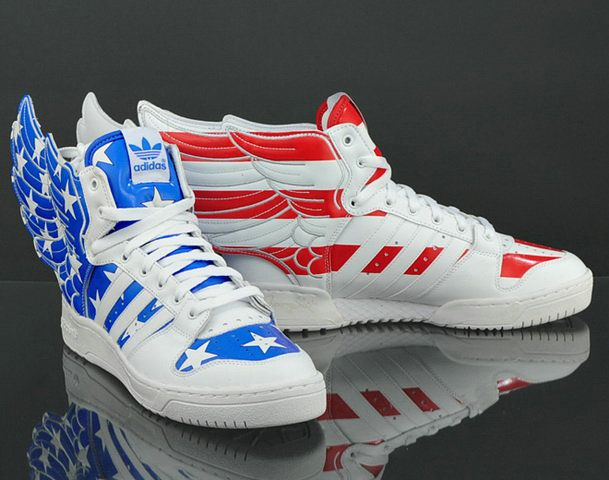 cheap for discount caeca 0d185 This version of Jeremy Scott s adidas JS Wings 2.0 definitely has that  patriotic feel to it. Available now as part of the adidas ObyO collection,  ...