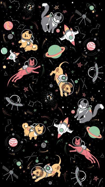 Space pets [3240x5760]