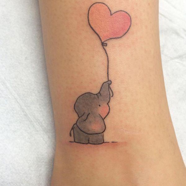 Elefanten Tattoos Bedeutung