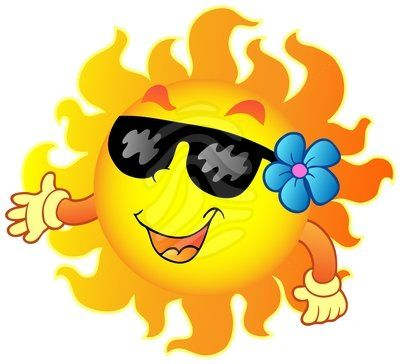 summer clip art happy