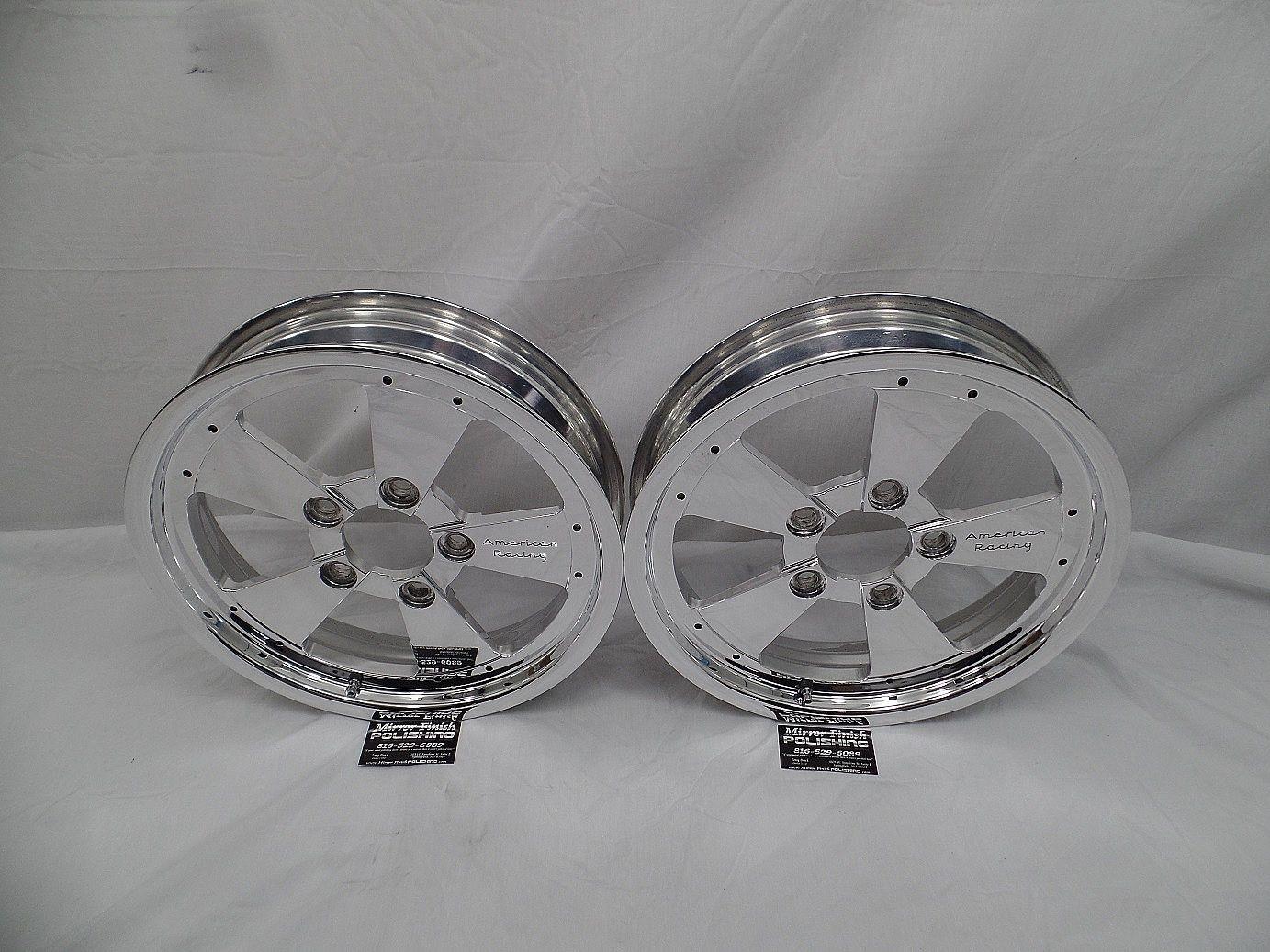 Yes, we polish American Racing Wheels too! American Racing