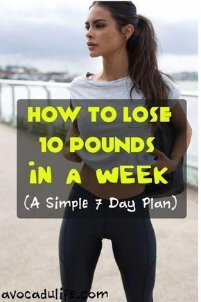 lose weight in a week 10 pounds fastest way detox exercise
