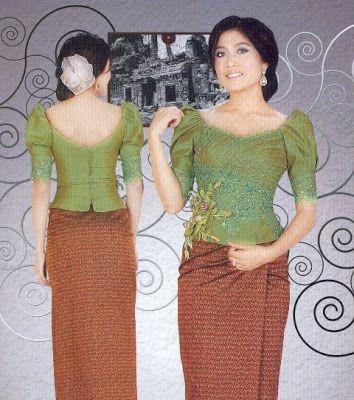 Khmer Fashion: Khmer Traditional Dress | Khmer | Pinterest