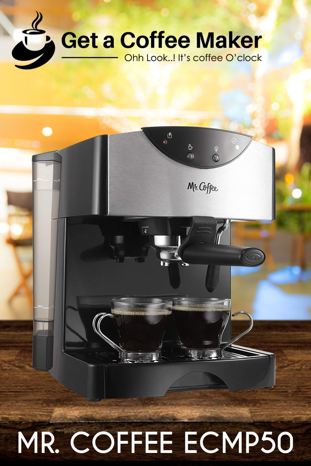 Mr. Coffee ECMP50 Review Single cup coffee maker, Coffee