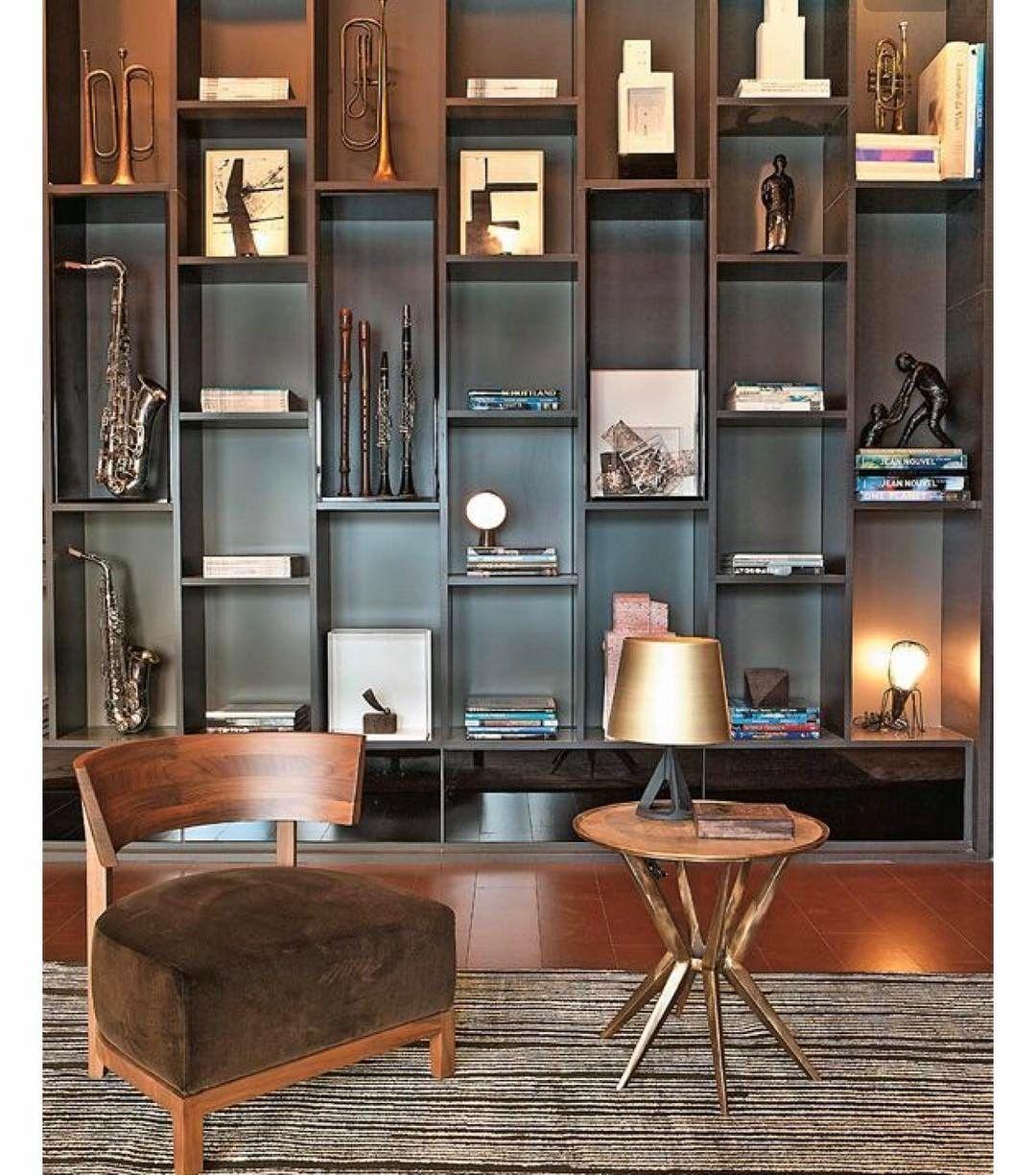Escritorio Do Musico Adoro A Proposta Dos Nichos Desencontrados Interior Interior Design Home