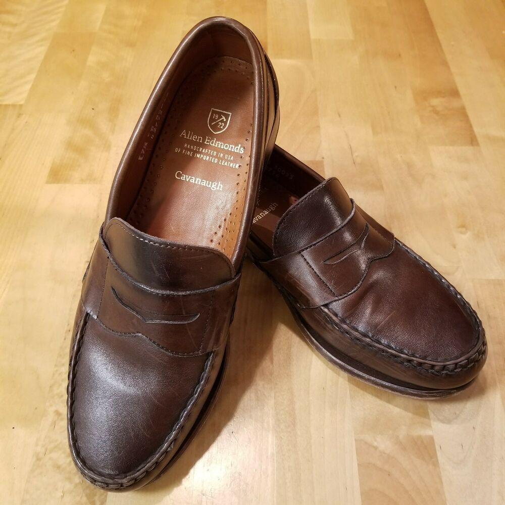 c863670e375 NICE Allen Edmonds Cavanaugh Oxblood Loafers Dress Shoes Mens US size 7.5 D   fashion  clothing  shoes  accessories  mensshoes  dressshoes (ebay link)