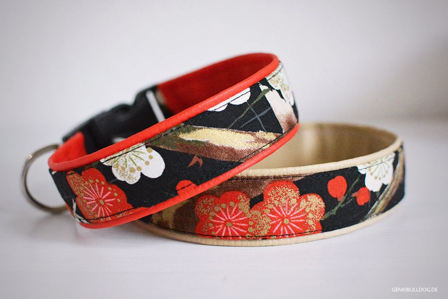 DIY - Hundehalsband aus Stoff selbst nähen | Selbst genäht, Stoffe ...