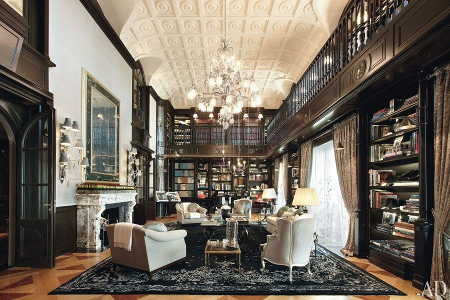 These Home Libraries Are A Book Lover S Dream With Images Home
