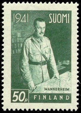 Suomen presidentit postimerkeissä - Mannerheim