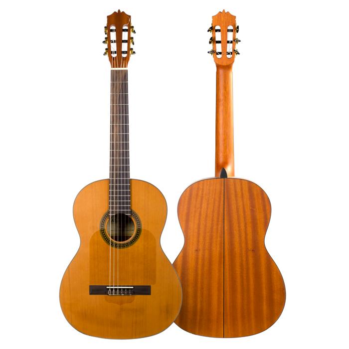 Classicalguitar Minyard Martinez Sapele Satin Mcg 35g Elflamencovive Guitar Classical Guitar Sapele