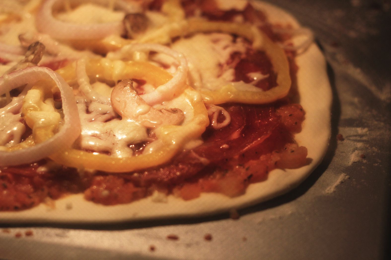 薄底披萨PIZZA