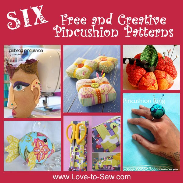 Pincushions are not only useful to have in your sewing room, they also make great gifts for all your sewing friends.