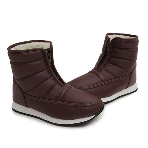 Sale 12% (31.99 ) - US Size 5-13 Snow Boots Women Fur Lining Keep Warm  Cotton Shoes Casual Flats f498f2203