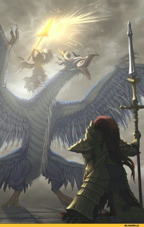 Dragon slayer orenstein gets fucked dark souls