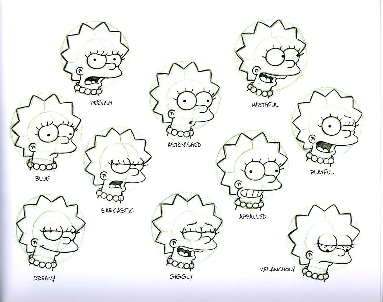 Pin De Ty En Animacion 2d Personajes De Los Simpsons Diseno De Personajes Tatuaje De Los Simpsons