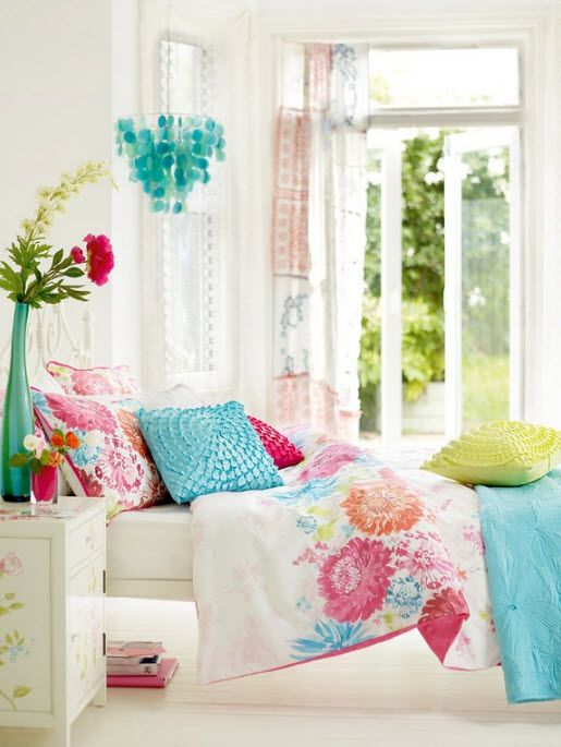 17 Simple And Colorful Design Ideas For Decorating Teenage Girls Bedrooms 1 Bedroom Color