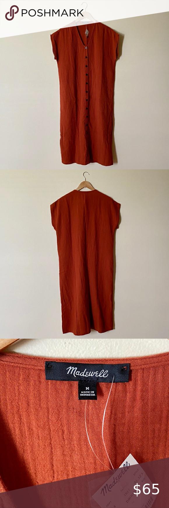 Madewell Gauze Easy Midi Dress Striped Casual Dresses Madewell Shirt Dress Midi Dress [ 1740 x 580 Pixel ]