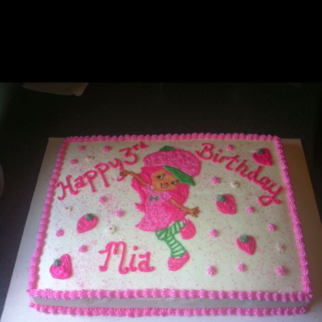 Strawberry shortcake birthday cake! | cakes | Pinterest ...