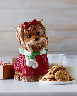 Yorkie Chip and Dip Tray