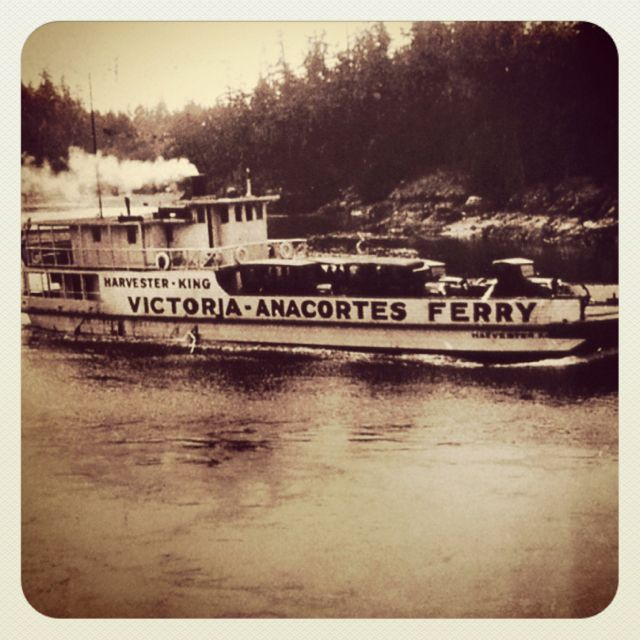 Ferry ride from anacortes wa to victoria bc vintage photo ferry ride from anacortes wa to victoria bc vintage photo victoria vancouver islandvintage sciox Choice Image