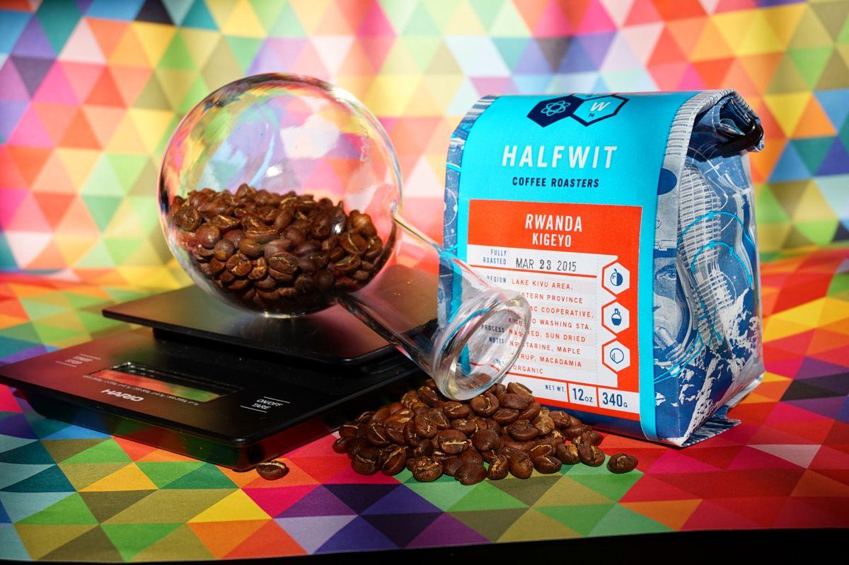 Halfwits coffee is as distinct as their coffee every one