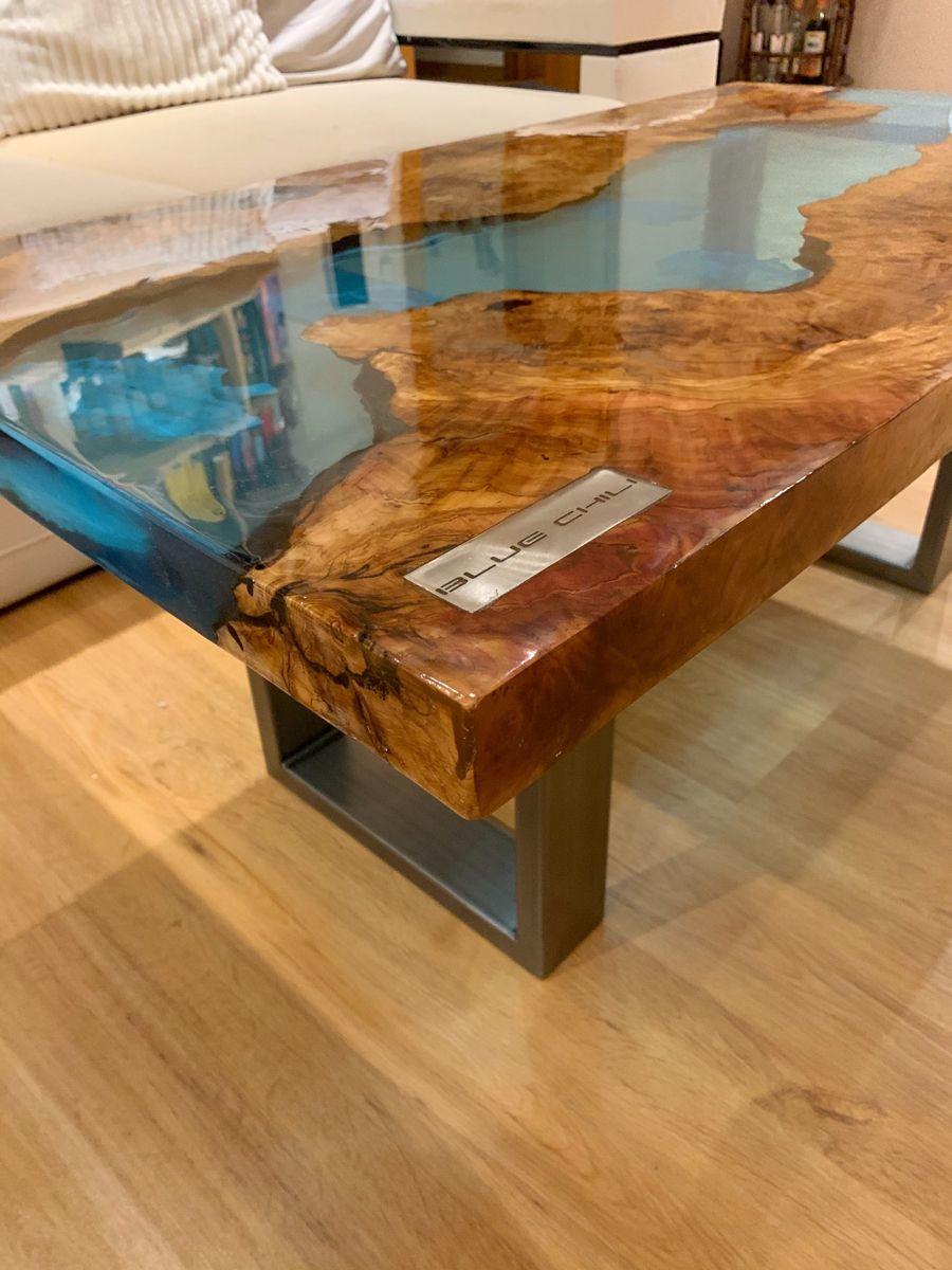 Epoxidharz Tisch River Table Epoxy Table Esstisch Couchtisch