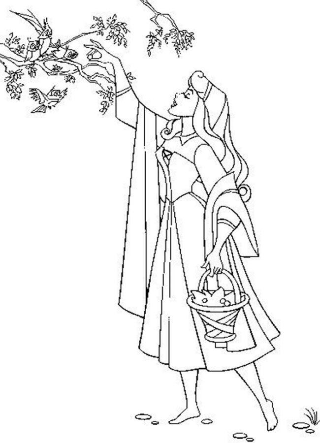 sleeping beauty coloring pages - Google-søgning Śpiąca Królewna - new disney princess coloring pages sleeping beauty