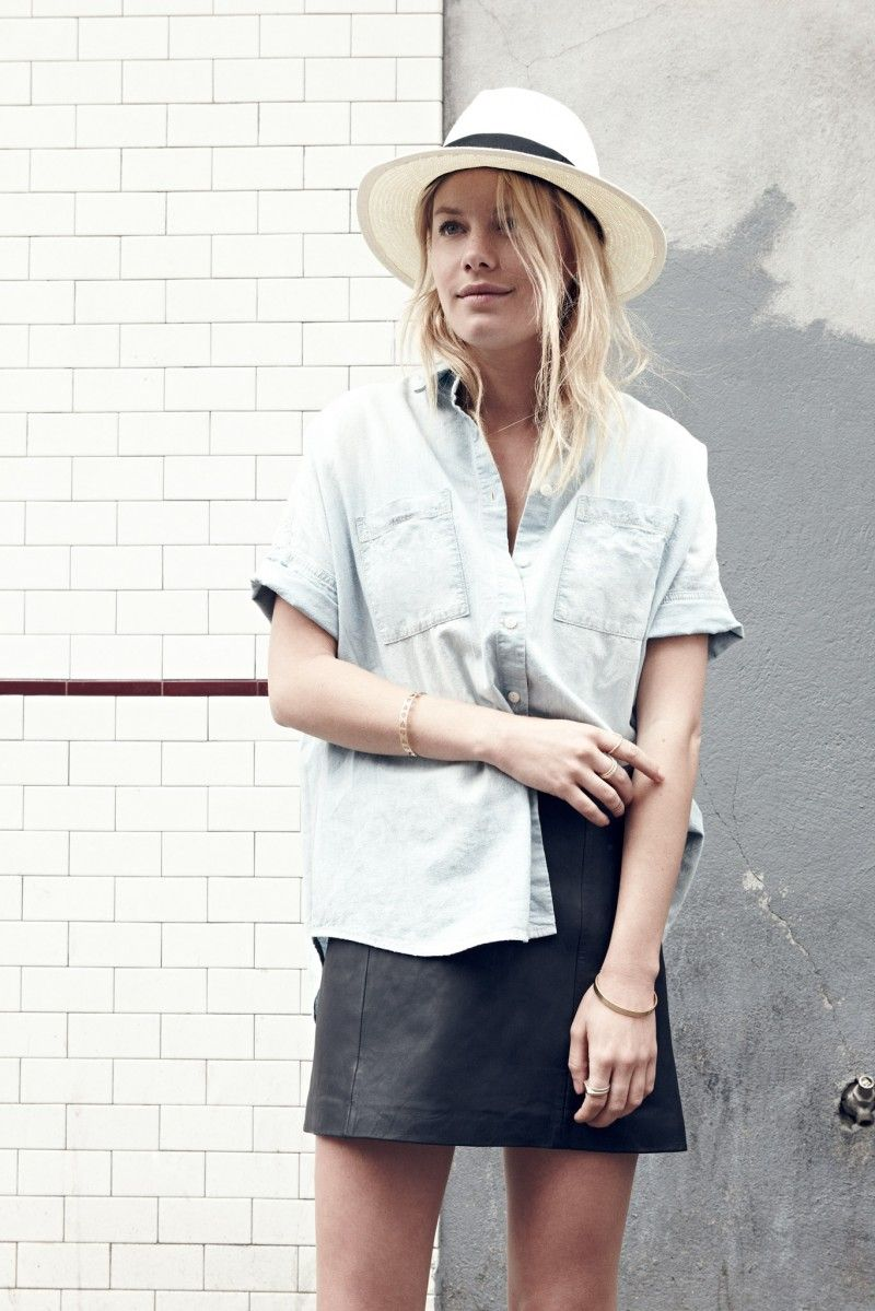 Madewell courier shirt inspiration   Style Inspired   Fashion, Style ... 84aa19b918b5