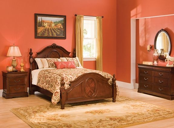 Regency 4Pcqueen Bedroom Set  Bedroom Sets  Raymour And Enchanting Raymour And Flanigan Bedroom Sets Review